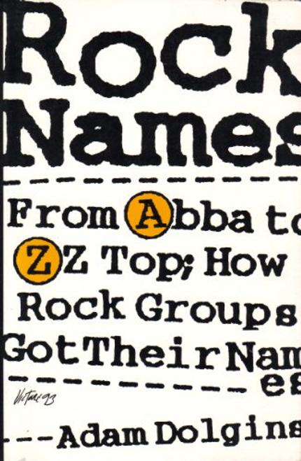 Dolgins, Adam / Rock Names (Large Paperback)