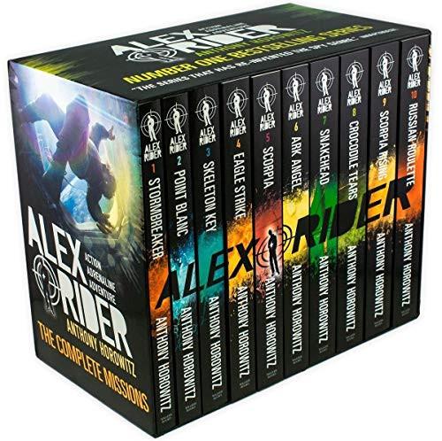 Horowitz, Anthony - Alex Rider Box Set - Books 1-10 - SEALED