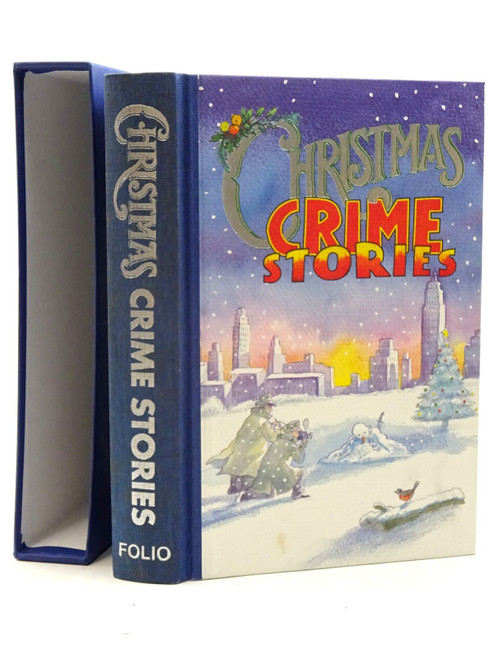Folio Society - Book of Christmas Crime Stories - Anthology - HB SLIPCASED FOLIO SOCIETY EDITION - 2004 , Illustrated by Michael Foreman