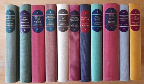 Various Authors - Vintage 1960's Companion Book Club - 11 Cloth Hardbacks  - ( Agatha Christie, Jon Cleary, Henry Cecil, Erle S Gardner, John Masters, Hammond Innes, George Martelli, A.J Cronin, Norman Collins, Alexander Cordell, Ernest K Gann)