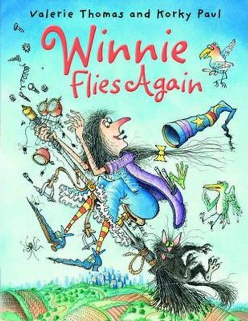 Thomas, Valerie / Winnie Flies Again (Children's Picture Book)