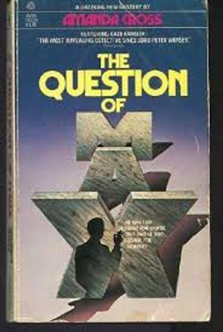 Cross, Amanda / The Question Of Max
