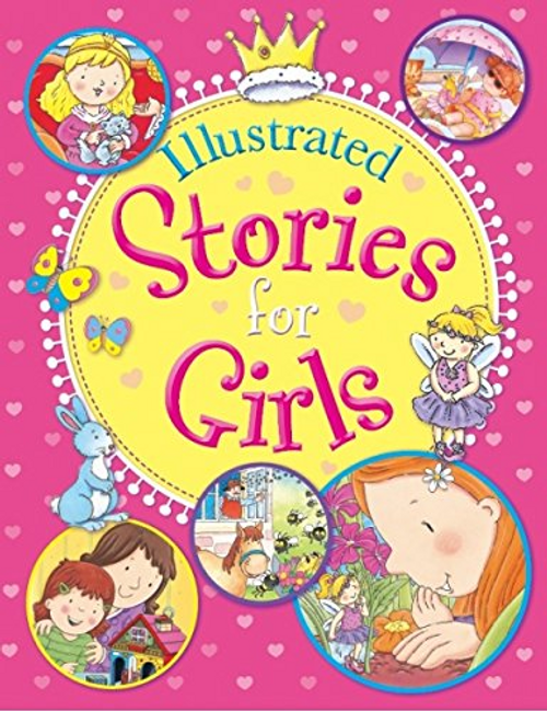 Illustrated Stories For Girls (Children's Coffee Table)