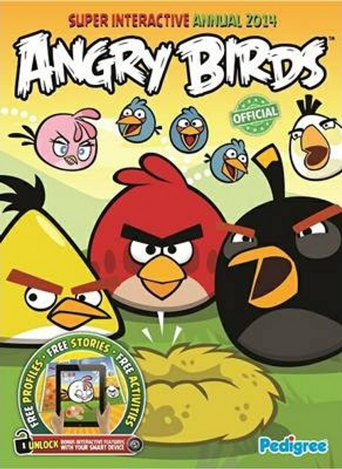 Angry Birds Super Interactive Annual 2014 (Children's Coffee Table)