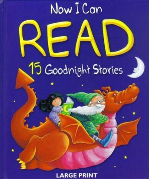 Now I Can Read 15 Goodnight Stories (Children's Coffee Table)