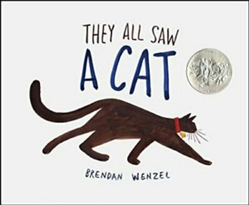 Wenzel, Brendan / They All Saw A Cat (Children's Coffee Table)