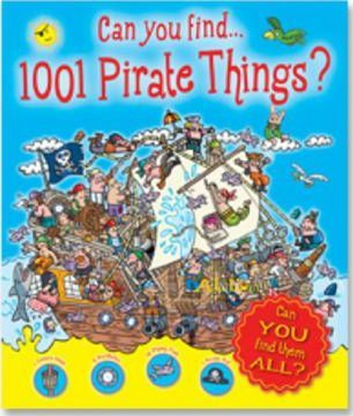 Can You Find 1001 Pirates and Other Things? (Children's Coffee Table)
