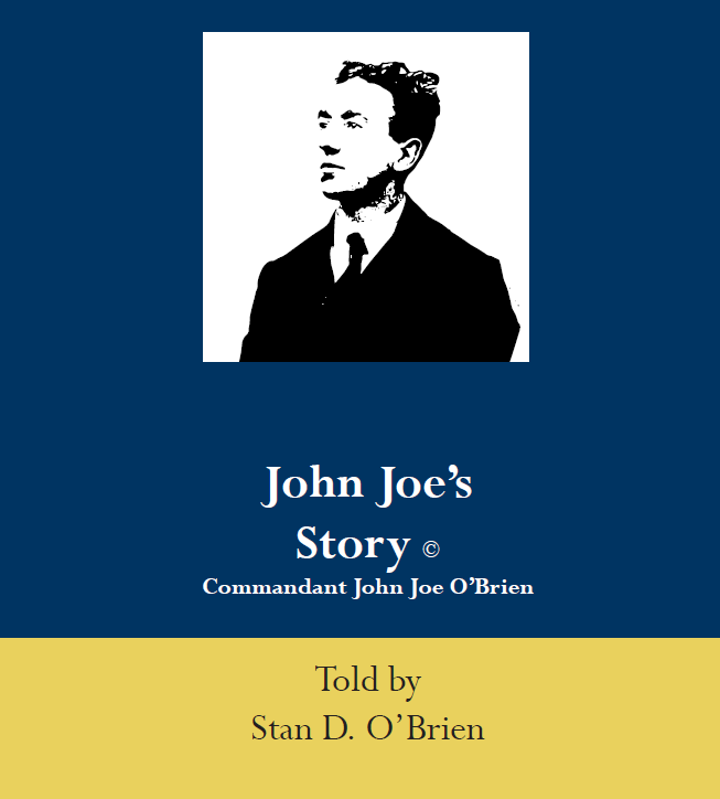 Stan O'Brien - Commandant John Joe O'Brien - SIGNED COPIES - The War of Independence Anniversary, Limerick