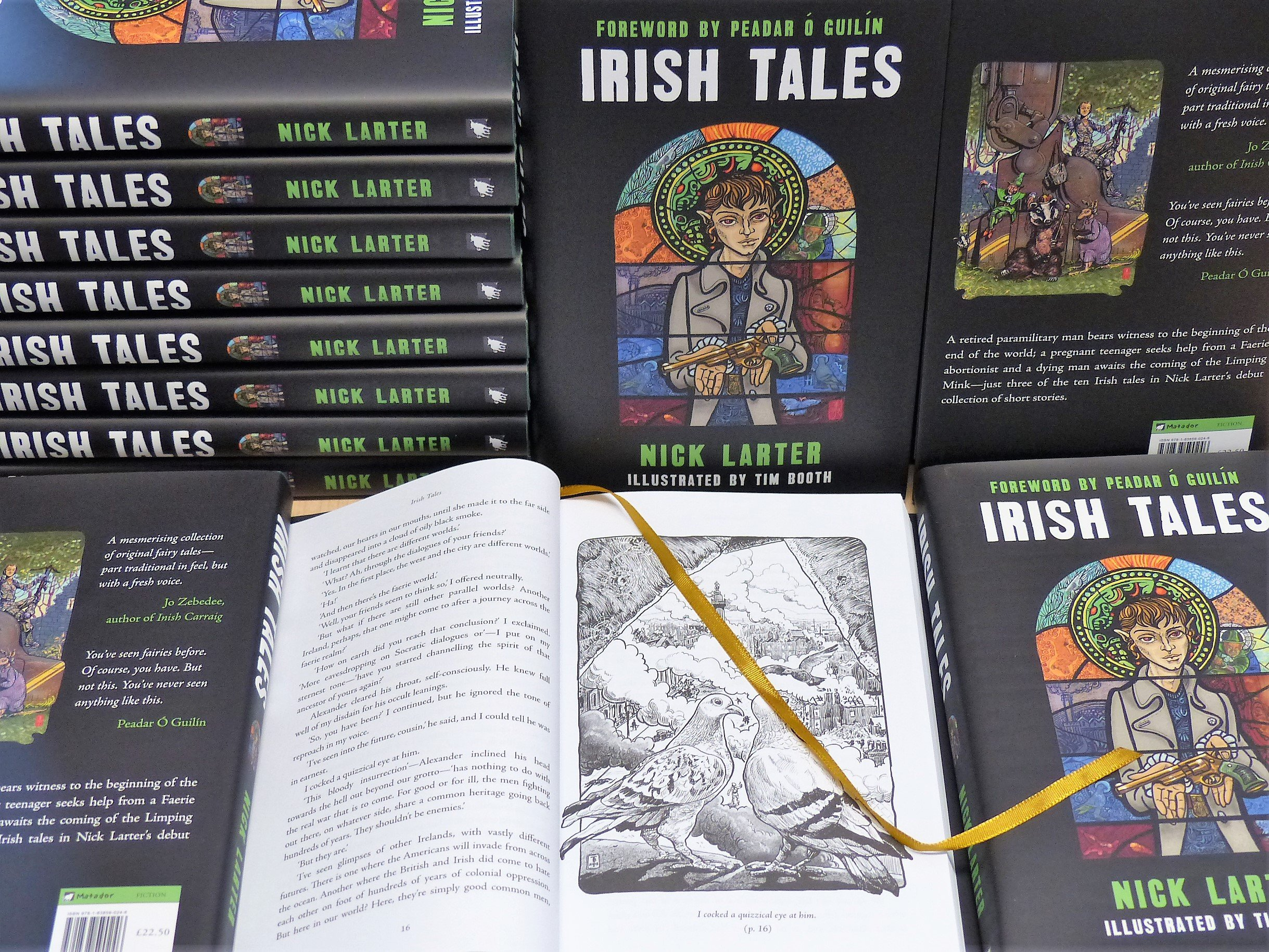 Clare writer Nick Larter on his new collection Irish Tales - Signed copies available now!