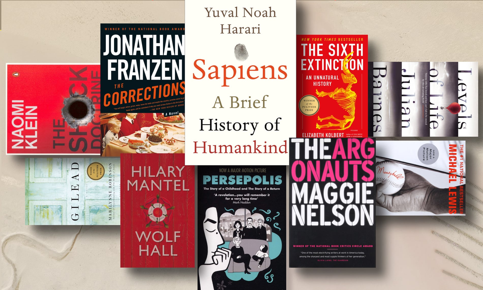 The Guardian 100 Best books of the 21st Century - So far..