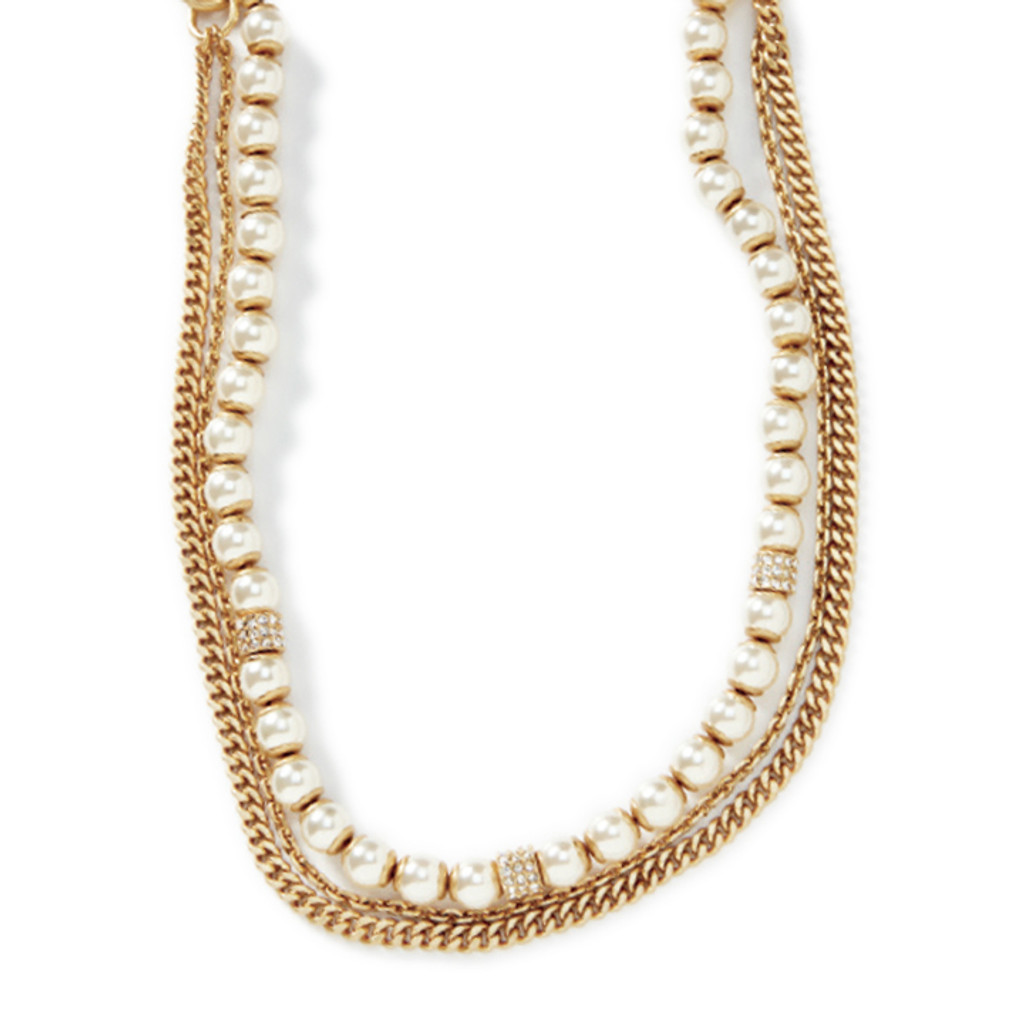 Middleton Gold Necklace/Headband