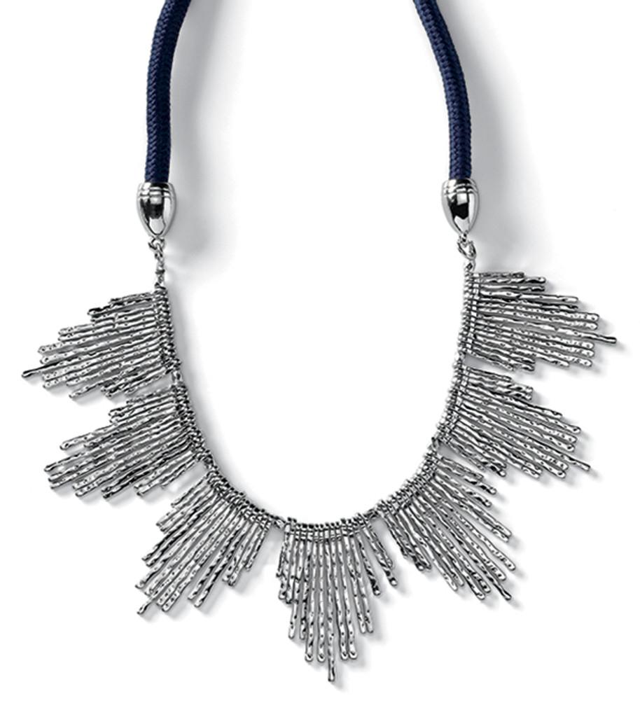 Sandpiper Silver Necklace