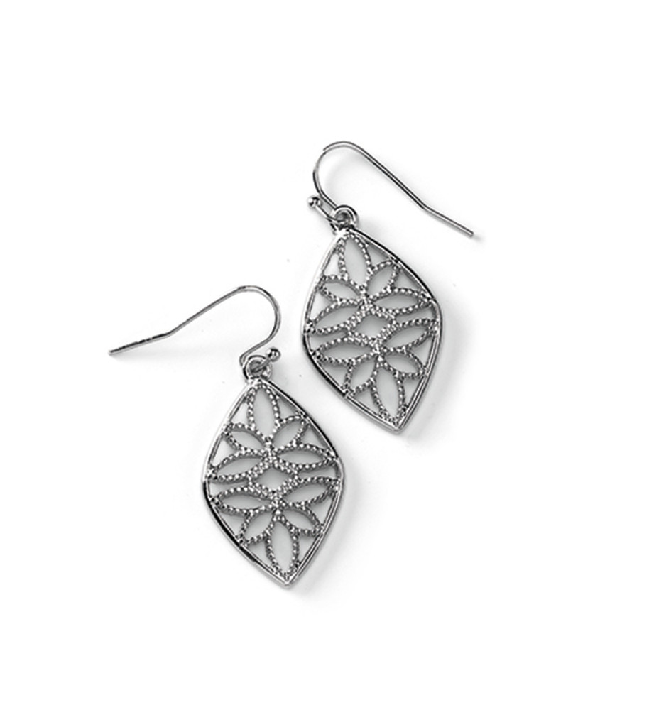 Stencil Earrings