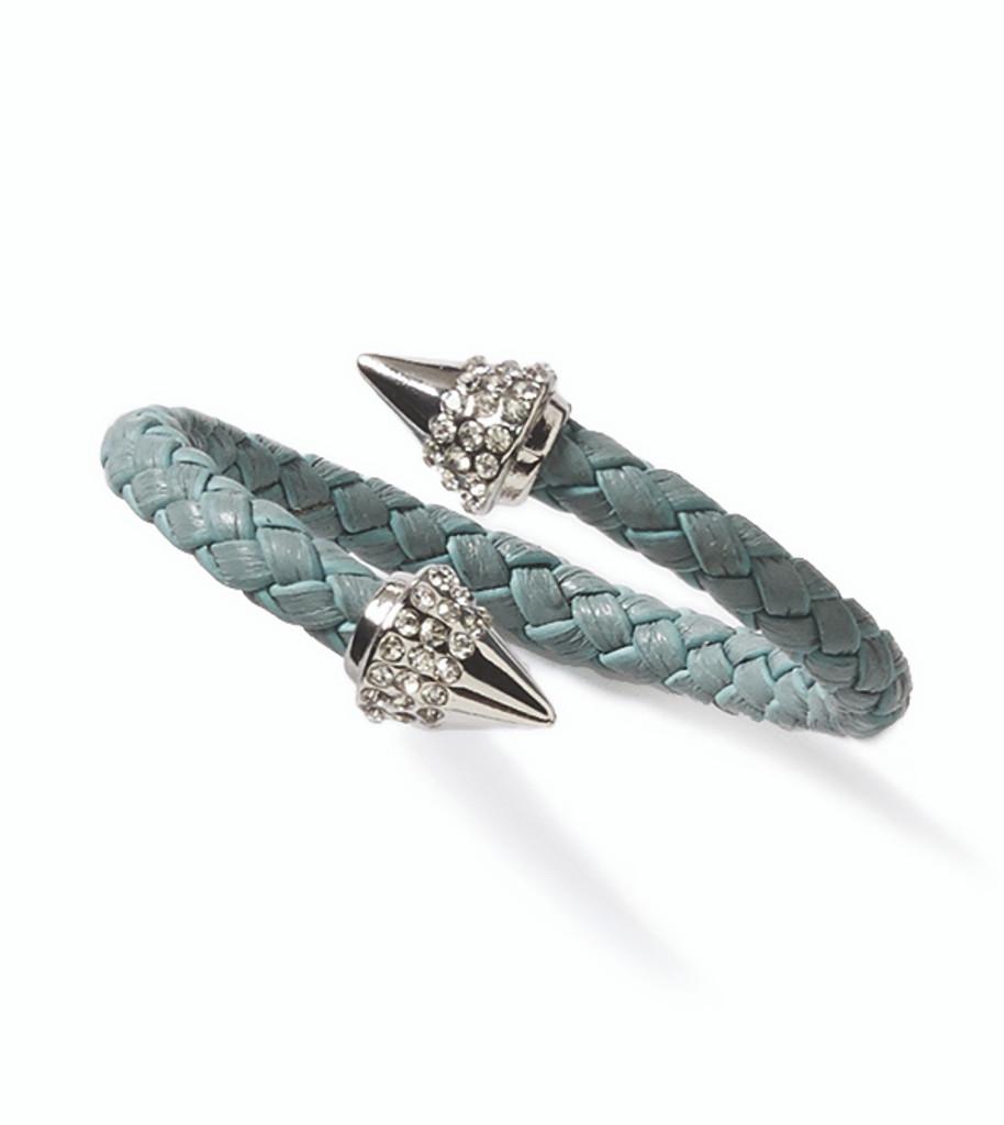Woven Spike Bracelet