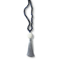 Artisan Navy Necklace