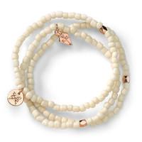 Fiji Cream Bracelet