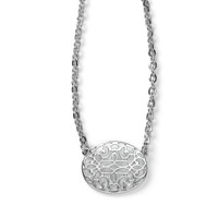 Silver Tapestry Necklace