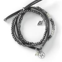 Trifecta Bracelets - Gray