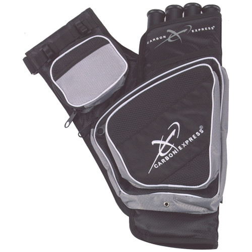 Carbon Express Target Quiver Black/Silver LH