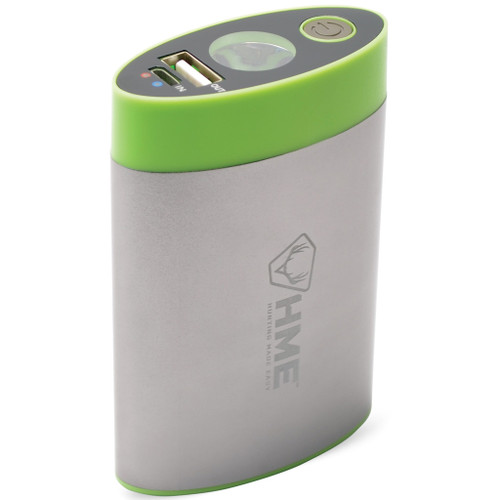 HME Hand Warmer w/ Built In Flashlight and Charger Bank