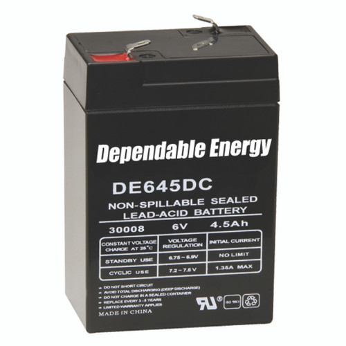 American Hunter 6V Battery Rechargeable F-Tab