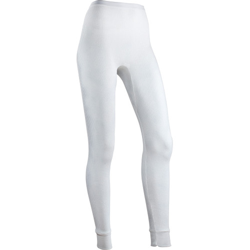 Indera Women's Traditional Thermal Bottomwhite Large