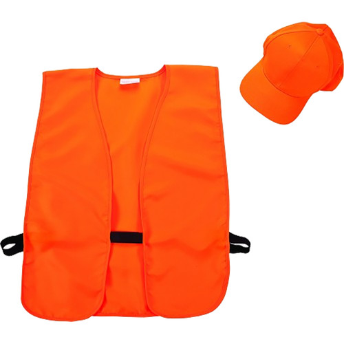 Allen Hat & Vest Comboblaze Orange