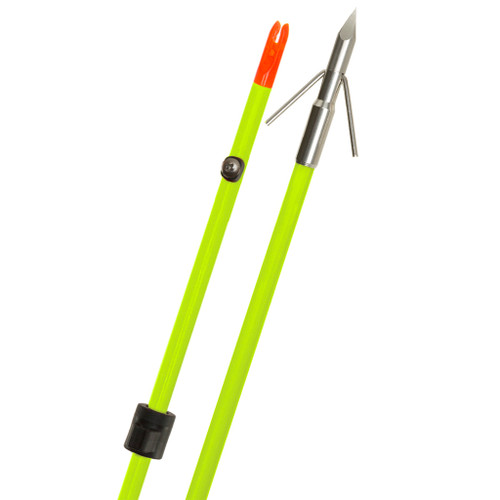 Fin Finder Raider Pro Arrowflo Green W/ Riptide Point