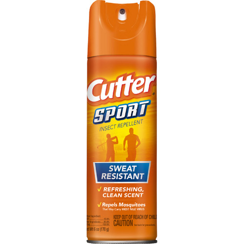 Cutter Sport Insect Repellent15% Deet 6 Oz.