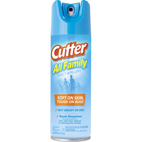 Cutter All Family Insect Repellent7% Deet 6 Oz. Aerosol