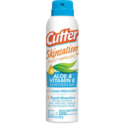 Cutter Skinsations Insect Repellent7% Deet 6 Oz. Ea.