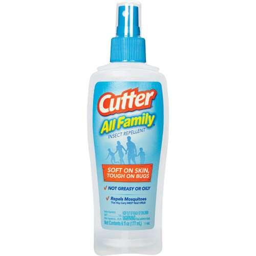Cutter All Family Insect Repellent7% Deet 6 Oz. Pump