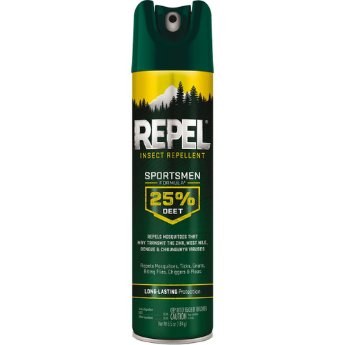 Repel Insect Repellent Sportsmen Formula25% Deet 6.5 Oz.