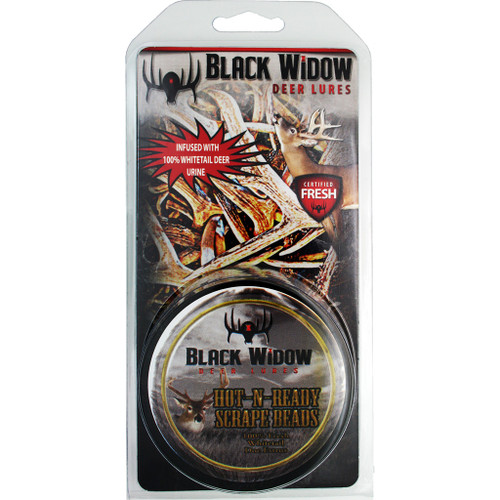 Black Widow Hot-n-readyred Label Scent Beads 2 Oz.