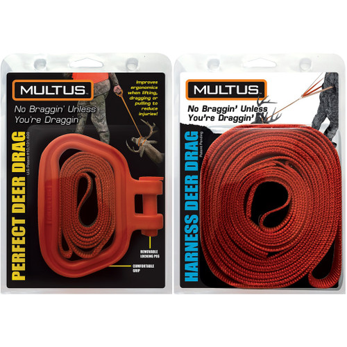 Multus Perfect Deer Drag And Harness