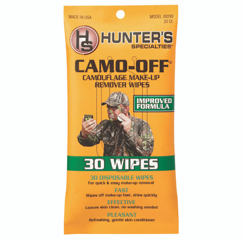 Hunters Specialties Camo-offmakeup Remover Wipes 30 Pk.