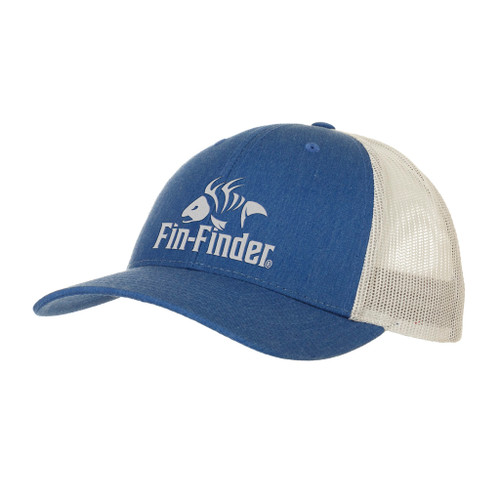 Fin Finder Logo Hatheathered Royal/light Grey