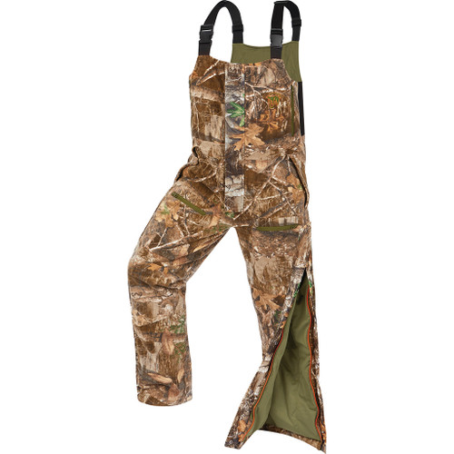 Arctic Shield Heat Echo Sherpa Bib Realtree Edge  Medium