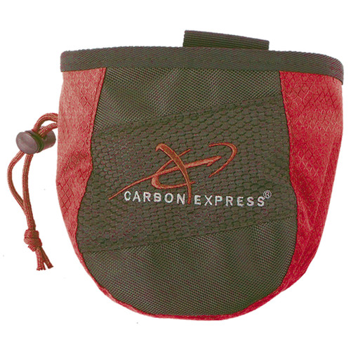 Carbon Express Release Pouchred/black
