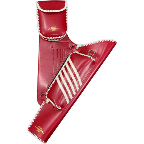 Angel Target Quiver Red With White Trim Rh
