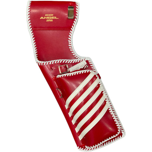 Angel Field Quiver Red With White Trim Rh