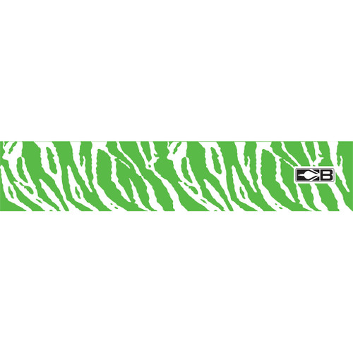 Bohning Arrow Wrapgreen And White Tiger 7 In. Standard 13 Pk.