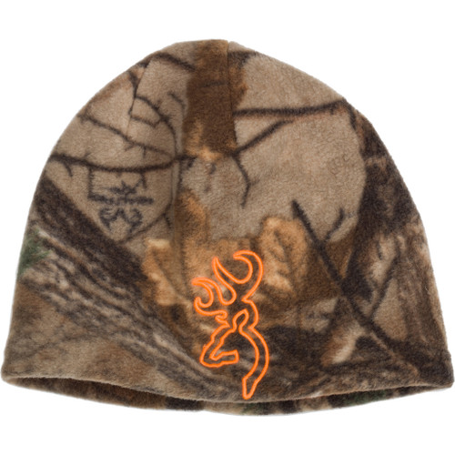 Browning All Season Reversible Beanie Realtree Xtra/ Blaze Orange