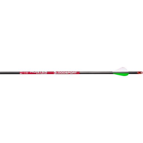 Bloodsport Hunter Extreme Arrows 400 2in. Vane 6 Pk.