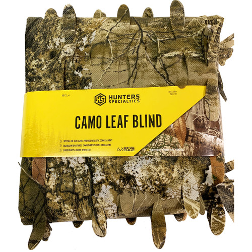 "Hunters Specialties Leaf Blind Realtree Edge 56""x12'"
