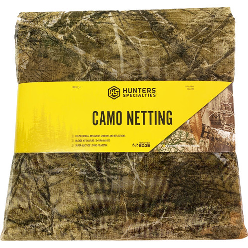 "Hunters Specialties Netting Realtree Edge 54""x12'"