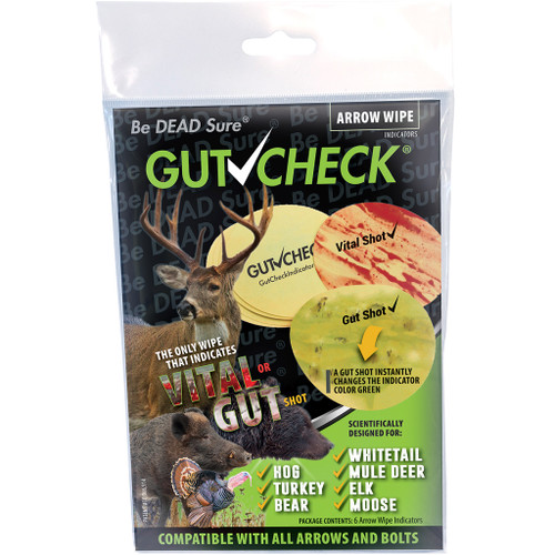 Gut Check Arrow Wipe Indicator Multi Species