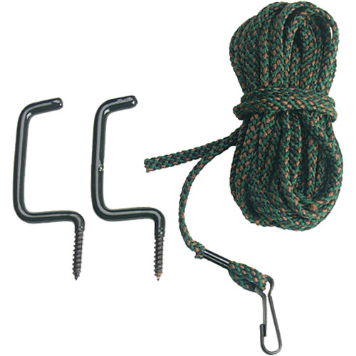 Allen Treestand Pull Up Rope 20 Ft. W/ 2 Bow Hangers