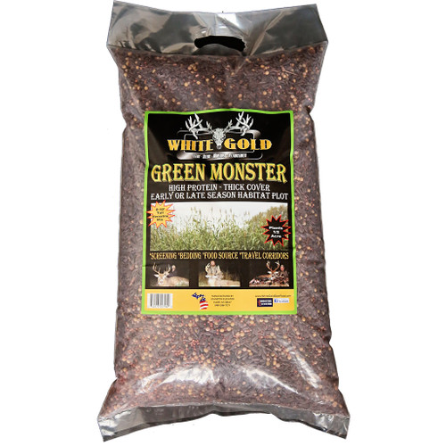 White Gold Green Monster Seed 25 Lb.