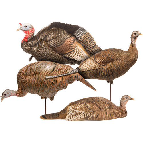 Dave Smith Decoy Turkey Flock Decoy